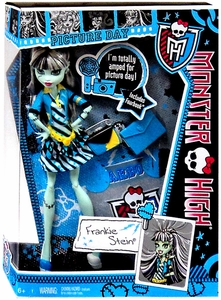 Monster High Picture Day Deluxe Doll Frankie Stein