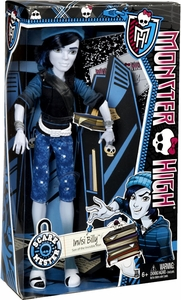 Monster High Scaremester DELUXE Doll Invisi Billy New!