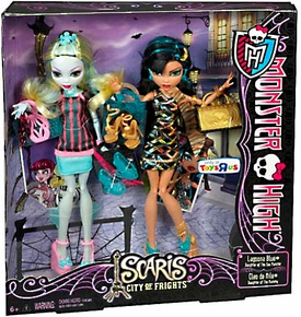 Monster High Scaris City of Frights Exclusive Doll 2-Pack Lagoona Blue & Cleo de Nile