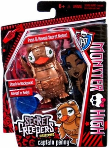 Monster High Secret Creepers Critters Captain Penny