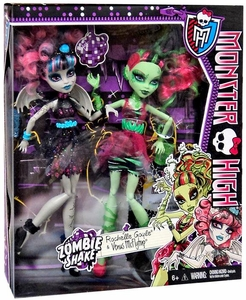 Monster High Zombie Shake Doll 2-Pack Rochelle Goyle & Venus McFlytrap