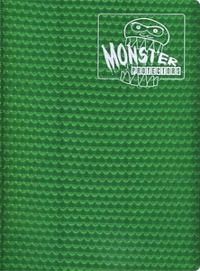 Monster Protectors Card Supplies 9-Pocket Green Binder