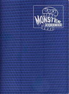 Monster Protectors Card Supplies 9-Pocket Midnight Blue Binder