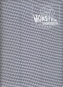 Monster Protectors Card Supplies 9-Pocket Silver Binder