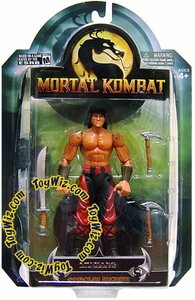 Mortal Kombat Shaolin Monks Series 3 Exclusive Action Figure Liu Kang