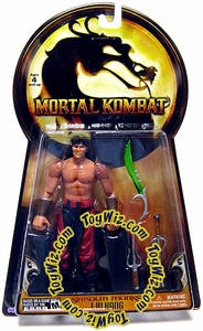 Mortal Kombat Shaolin Series 2 Action Figure Liu Kang