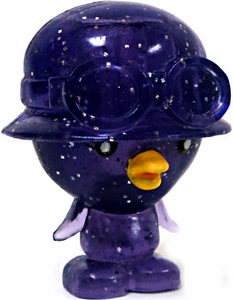 Moshi Monsters Moshlings 1.5 Inch Series 1 Mini Figure #71 Cosmic Peppy[Sparkly Purple]
