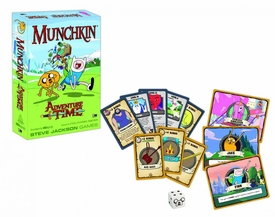 Munchkin Board Game Adventure Time New!