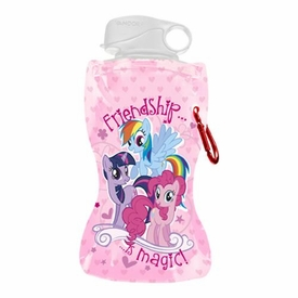 My Little Pony 12 oz. Collapsible Water Bottle New!