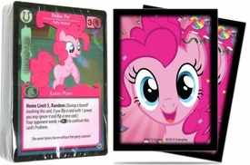 My Little Pony Enterplay Collectible Card Game LOOSE Pinkie Pie Starter Deck & Standard Sleeves Combo
