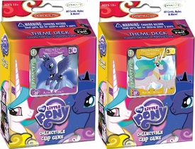 My Little Pony Enterplay Collectible Card Game Set of Both Canterlot Nights Theme Decks [Luna & Celestia]