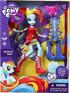 My Little Pony Equestria Girls 9 Inch Deluxe Doll Rainbow Dash with Accessories