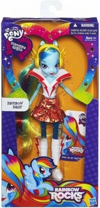 My Little Pony Equestria Girls Rainbow Rocks 9 Inch BASIC Doll Rainbow Dash BLOWOUT SALE!