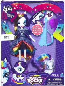 My Little Pony Equestria Girls Rainbow Rocks Doll & Pony Set Rarity