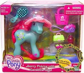 My Little Pony Exclusive Figure Berry Picking with Gardenia Glow