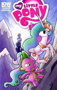 My Little Pony Friends Forever Comic Book #3 Retailer Incentive Cover