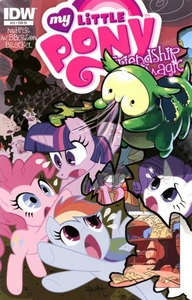My Little Pony Friendship Is Magic Comic Book #15 Retailer Incentive Cover