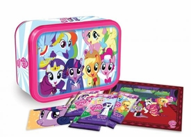 My Little Pony Friendship is Magic Enterplay Collector's Tin  [Poster, 5 Packs & Promo Twilight Sparkle Card!]