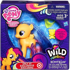 My Little Pony Friendship is Magic Exclusive Wild Rainbow Figure Scootaloo New!