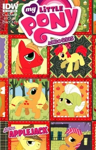 My Little Pony Micro-Series Featuring Applejack Comic Book #6 Cover A