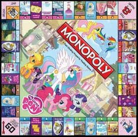 My Little Pony Monopoly Loose Parts Game Board
