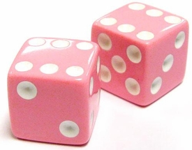 My Little Pony Monopoly Loose Parts Pair of Pink Dice