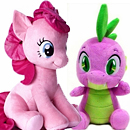 My Little Pony Spike & Jumbo Pinkie Pie!