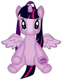 My Little Pony Plush Backpack Twilight Sparkle Pre-Order ships July