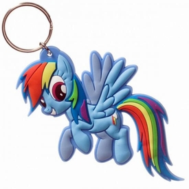 My Little Pony Rubber Keychain Rainbow Dash