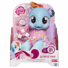My Little Pony So Soft Newborn Rainbow Dash