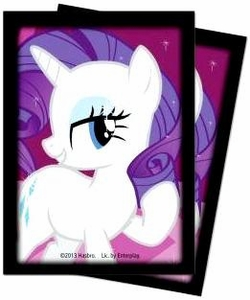 My Little Pony Ultra Pro Rarity Deck Protector Standard Sleeves