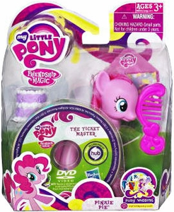 My Little Pony Wedding Figure Pinkie Pie & DVD
