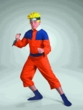 Naruto Costume #6430 Naruto Deluxe Costume Cosplay  (Child L 10-12)