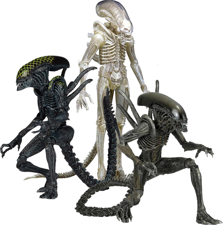 aliens series 9 figures means of transport