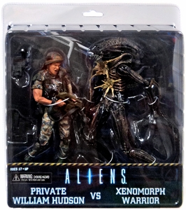 NECA Aliens Action Figure 2-Pack Private William Hudson & Xenomorph Warrior