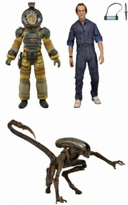 NECA Aliens Series 3 Set of 3 Action Figures [Dog Alien, Kane & Bishop] Pre-Order ships October