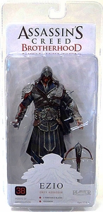 NECA Assassin's Creed Brotherhood Action Figure Master Assassin Ezio [Hooded Onyx Costume]