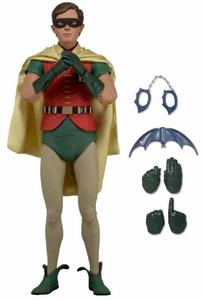 NECA Batman Quarter Scale Action Figure Burt Ward Robin [1966] Pre-Order ships November