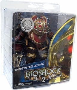 NECA Bioshock 2 Ultra Deluxe Exclusive Action Figure Big Daddy Elite Bouncer Damaged Package, Mint Contents!