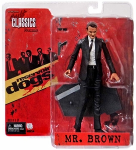 NECA Cult Classics Reservoir Dogs Action Figure Mr. Brown