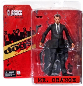 NECA Cult Classics Reservoir Dogs Action Figure Mr. Orange