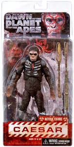 NECA Dawn of the Planet of the Apes Series 1 Action Figure Caesar Pre-Order ships August