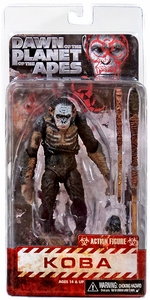 NECA Dawn of the Planet of the Apes Series 1 Action Figure Koba
