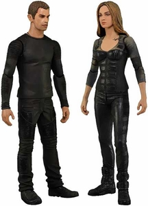 NECA Divergent Set of Both Action Figures [Tris & Four] New!
