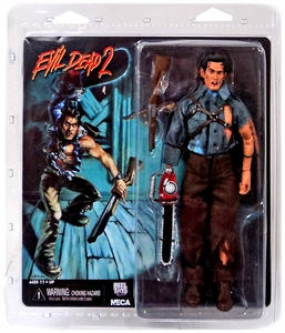 NECA Evil Dead 2 Retro 8 Inch Action Figure Hero Ash New!