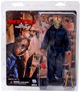 NECA Friday the 13th 8 Inch Action Doll Imposter Jason [Roy] New!