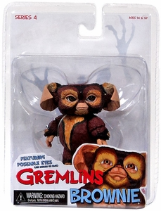 NECA Gremlins Mogwais Series 4 Action Figure Brownie New!