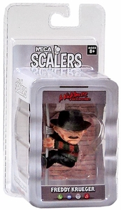 NECA Horror Movie Scalers Series 1 Mini Figure Freddy New!