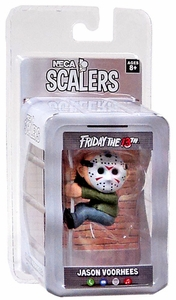NECA Horror Movie Scalers Series 1 Mini Figure Jason New!