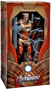 NECA Marvel Exclusive Quarter Scale Action Figure Midas Iron Man [With Electronics!]
